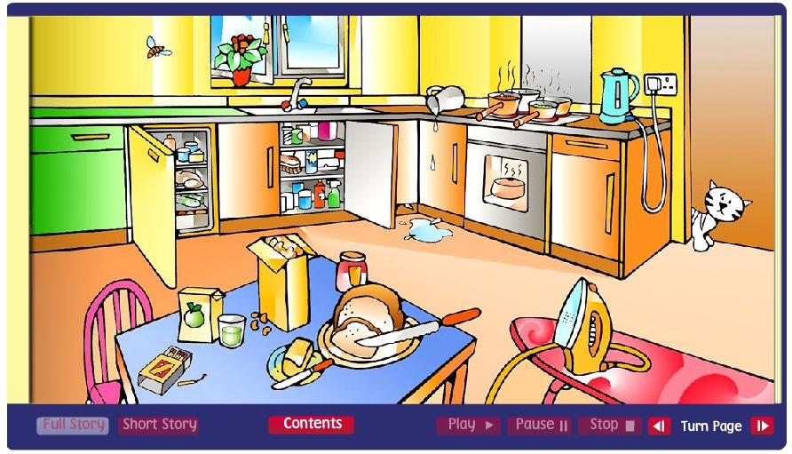 Home Safety Interactive Story  Try To Find All The Home Safety