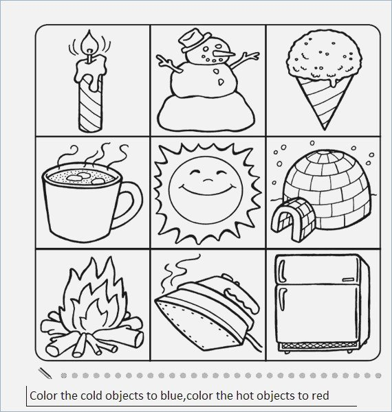 Hot And Cold Objects Worksheets – Webmart Me