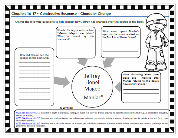 Ideas Collection Maniac Magee Worksheets On Sample Proposal