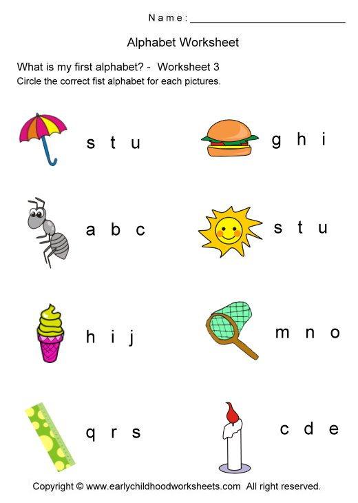 Index Of  Alphabet Circle
