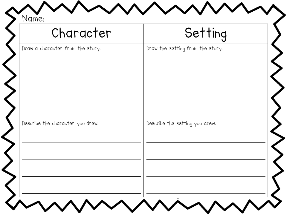 Kindergarten Setting Worksheet  Kindergarten  Best Free Printable