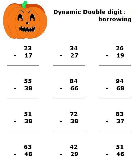Math Subtraction Worksheets 2nd Grade Worksheets For All