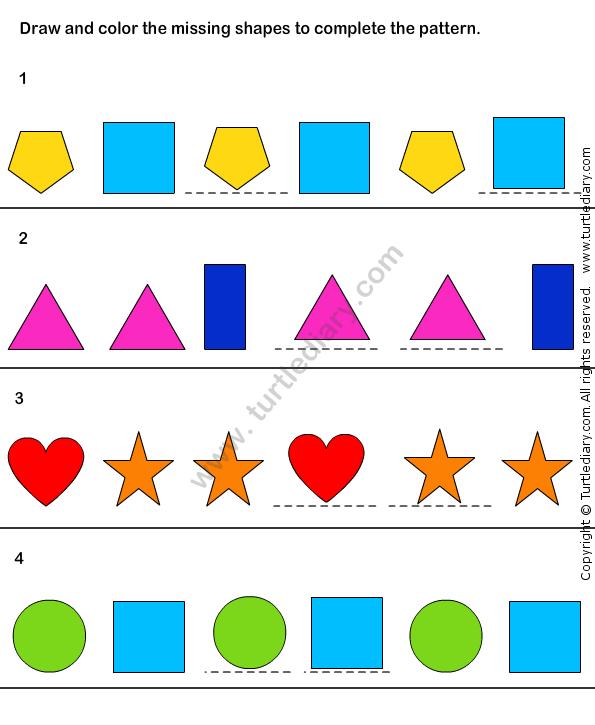 Pattern Match Worksheet31