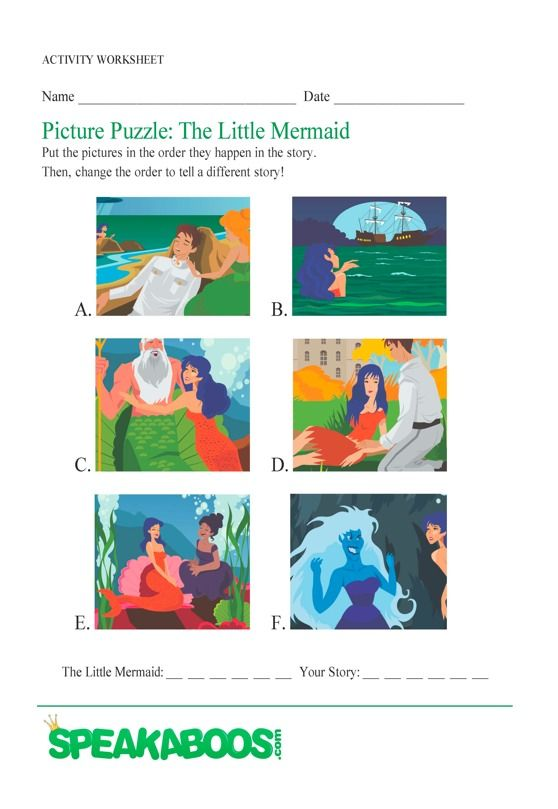 Picture Puzzle  The Little Mermaid