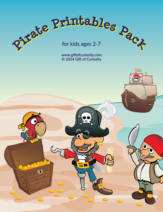 Pirate Printables Pack {pirate Worksheets For Kids}