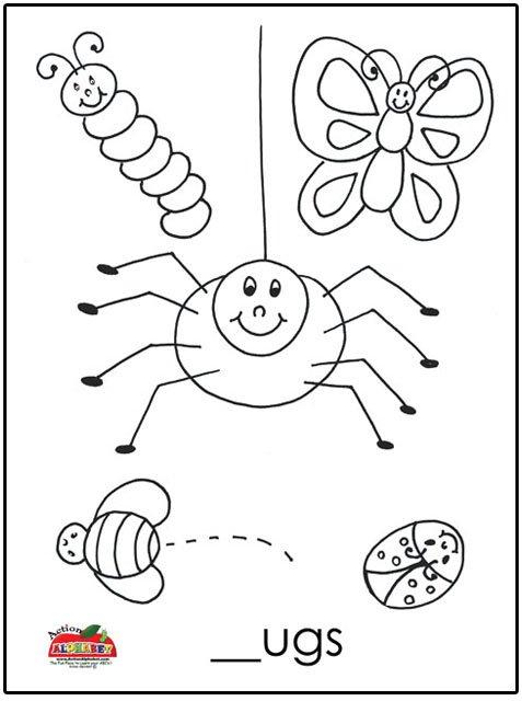 Preschool Bug Worksheets Worksheets For All