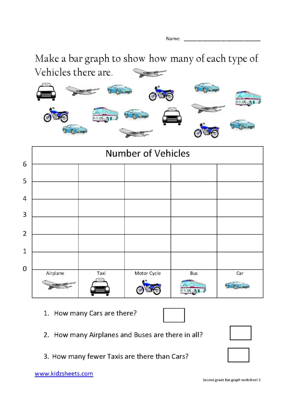 Printable Bar Graph Worksheets 2nd Grade Bar Graph Worksheets 2nd