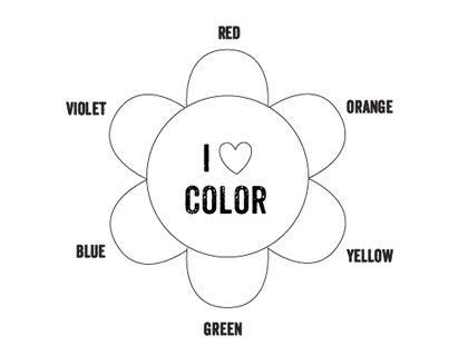 Printable Color Wheel