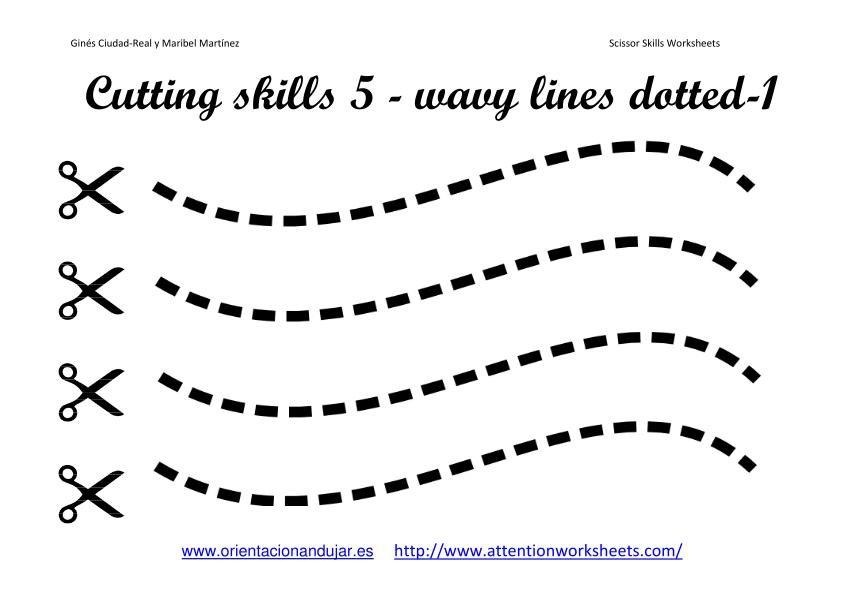 Printable Cutting Worksheets For Preschoolers The Best Worksheets