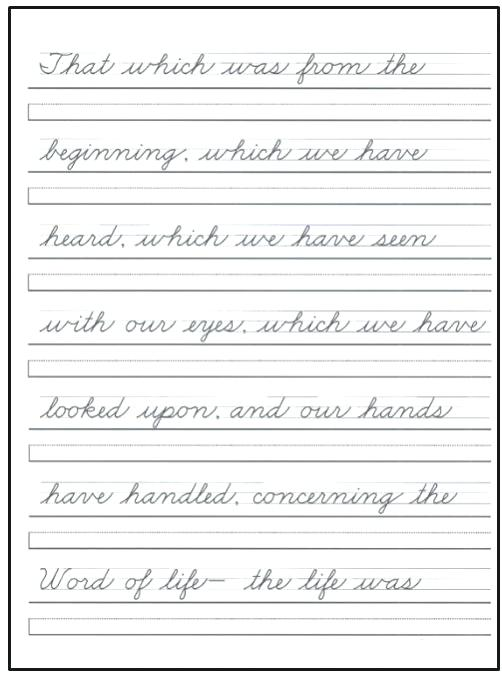 Printable Handwriting Practice Cursive Handwriting Practice Sheets