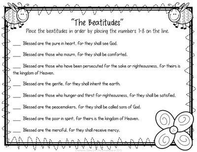 Printables  Beatitudes Worksheet  Beyoncenetworth Worksheets