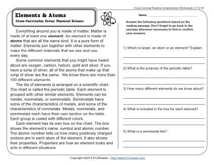Reading Comprehension Worksheets Middle School Worksheets For All