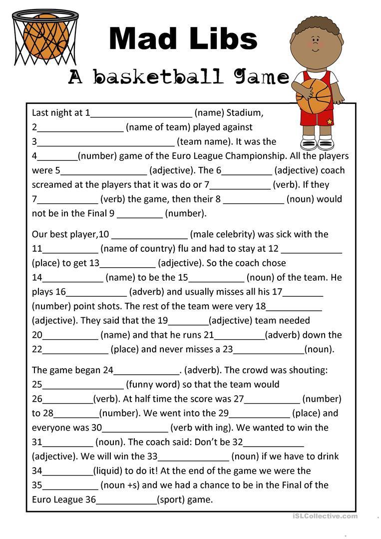 Science Basketball Worksheets  Science  Best Free Printable Worksheets
