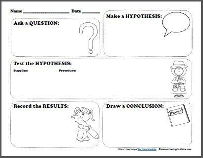 Scientific Method Worksheet 4th Grade The Best Worksheets Image