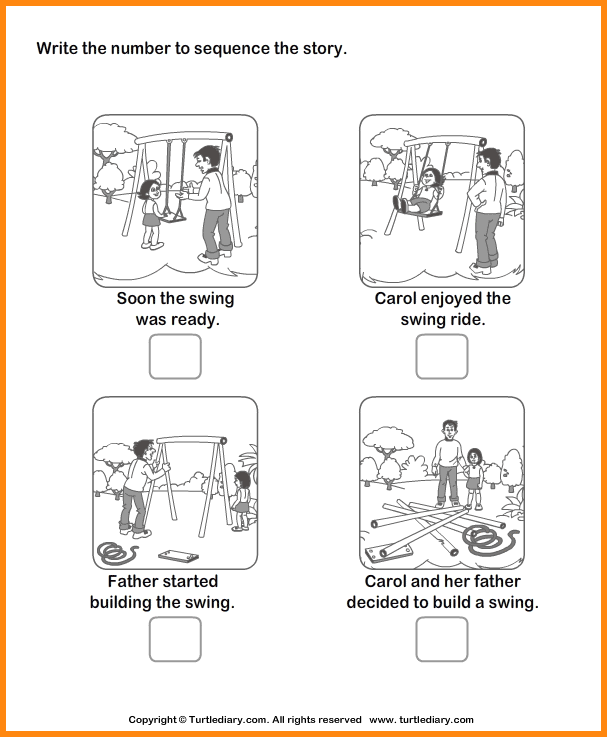 Sequencing Story Worksheets Worksheets For All