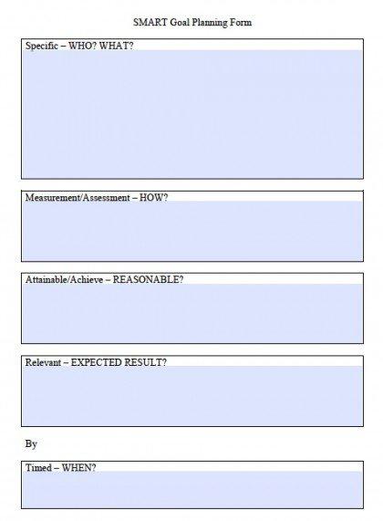 Smart Goal Worksheet Template Download Smart Goals Worksheet