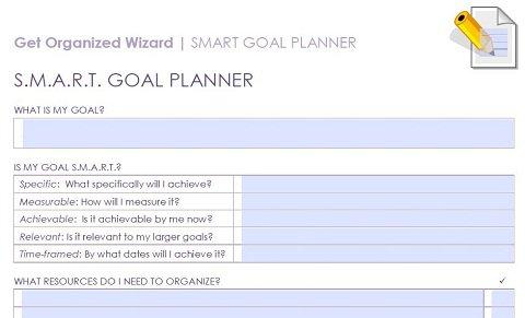Smart Goals Worksheet Template Worksheets For All