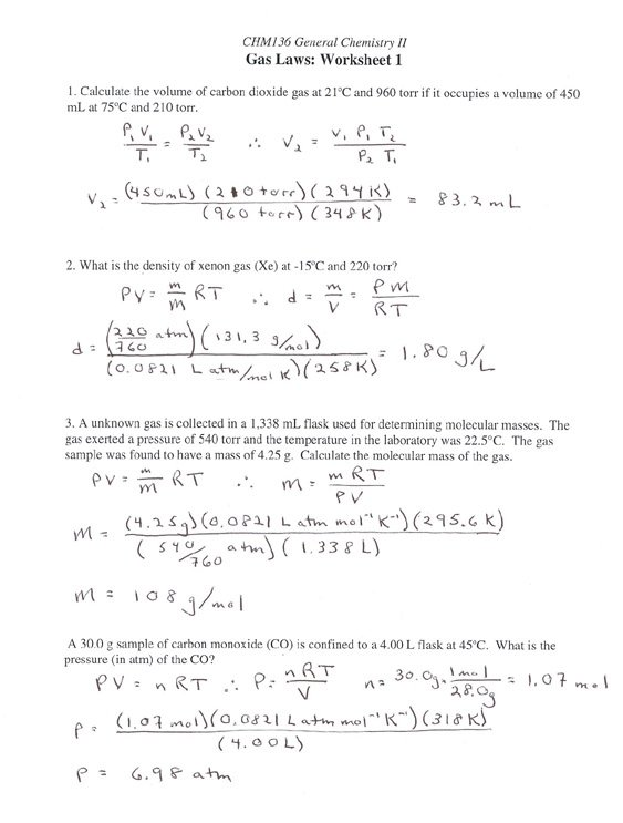 Stoichiometry Worksheet Answers Worksheets For All