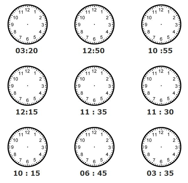 Telling Time Spanish Worksheets Worksheets For All