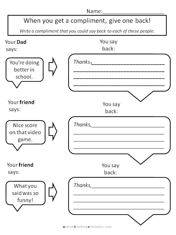 Therapy Worksheets For Teens The Best Worksheets Image Collection