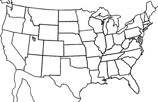 United State Map Worksheet Worksheets For All