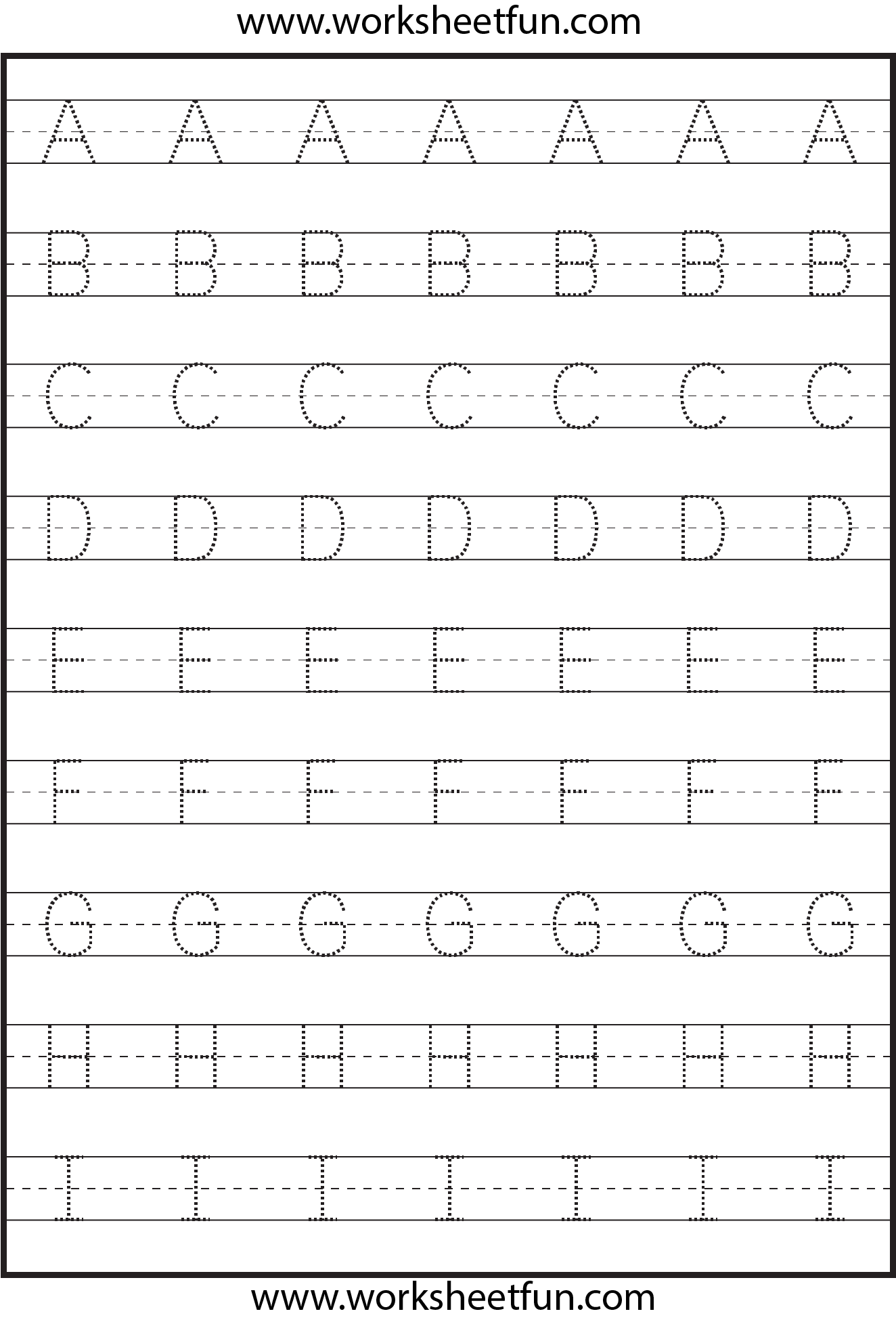 Uppercase Letters Worksheets The Best Worksheets Image Collection