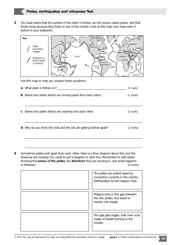 Volcano Worksheet Middle School Image Mag  Volcano  Best Free