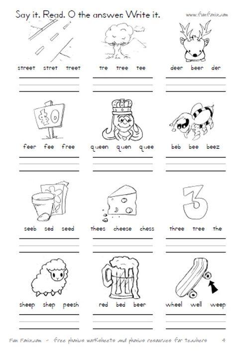 Vowel Diphthong Worksheets And Digraph Worksheets; Printable