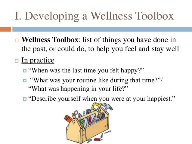 Wellness Recovery Action Plan Worksheets 6 I Developing A Knowing