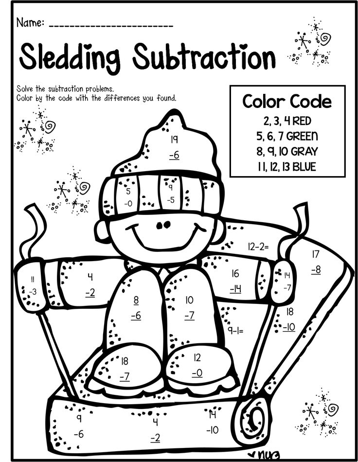 Winter Math Worksheets For 2nd Graders The Best Worksheets Image