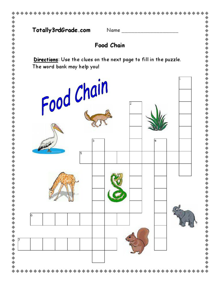 Word Chains Worksheets The Best Worksheets Image Collection