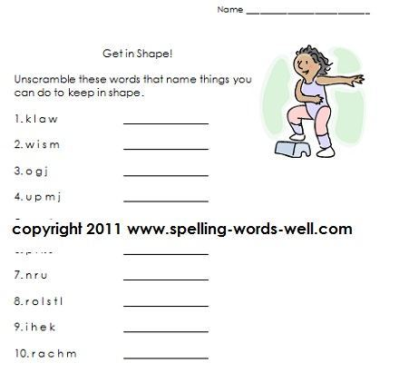 Worksheets For Grade 3 English Language
