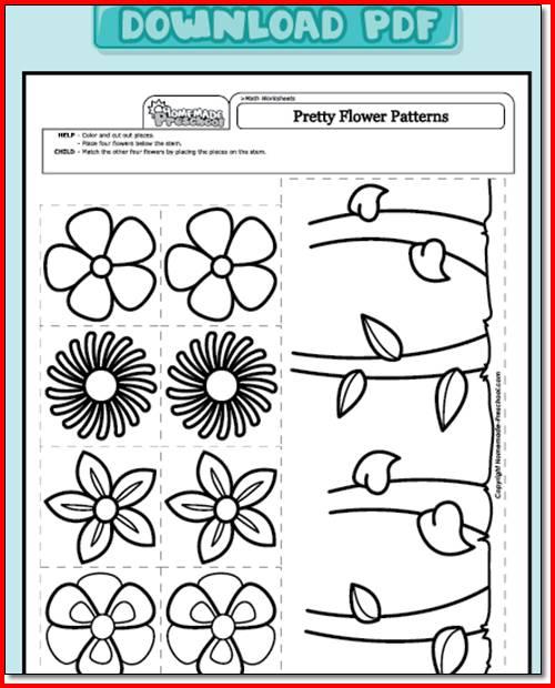 Worksheets For Kindergarten Pdf Worksheets For All