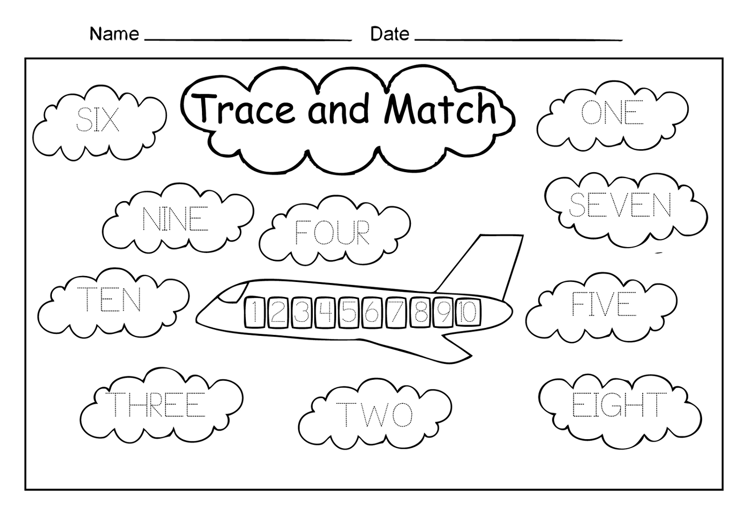 Worksheets For Numbers The Best Worksheets Image Collection