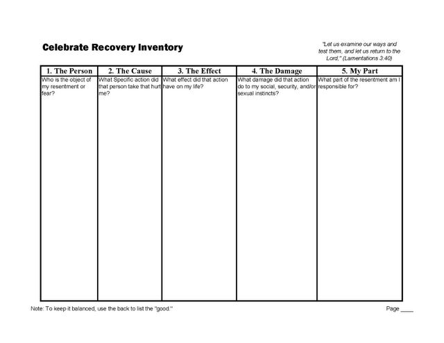 11 Best Recovery Images On Free Worksheets Samples