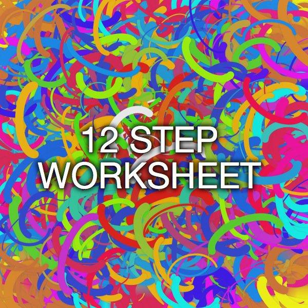 12 Step Worksheet