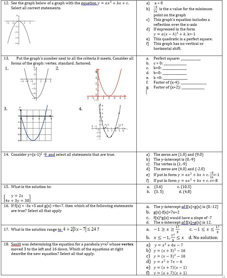 23 Inspirational Algebra 1 Slope Intercept Form Worksheet 1 Answer