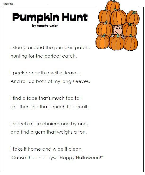 3rd Grade Halloween Worksheets