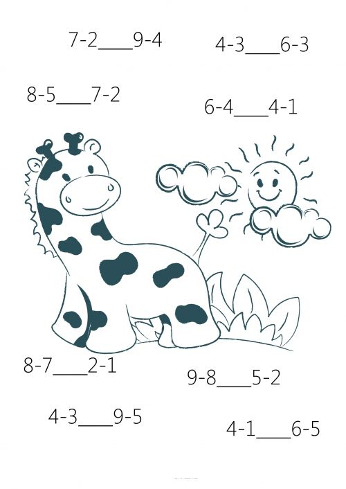 59 Best Subtraction Practice Worksheets Images On Free Worksheets Samples