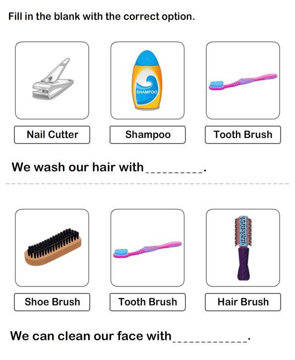 68 Best Personal Hygiene Worksheets Images On Free Worksheets Samples