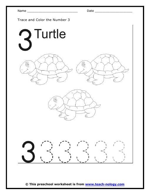 7 Best Number 3 Worksheets Images On Free Worksheets Samples