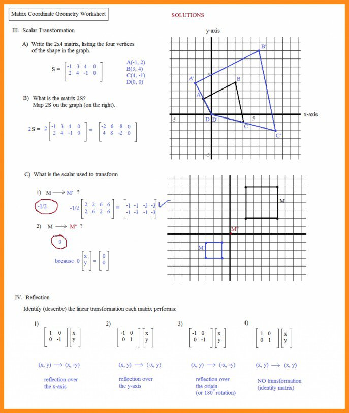 7th Grade Geometry Worksheets Best Of Kids The Cartesian Art