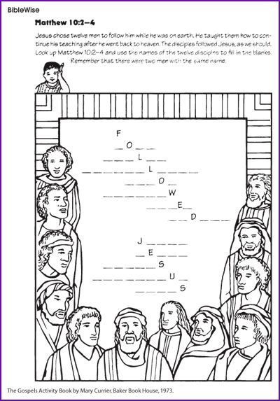 99 Best Bible  Jesus & His Disciples Apostles Images On Free Worksheets Samples