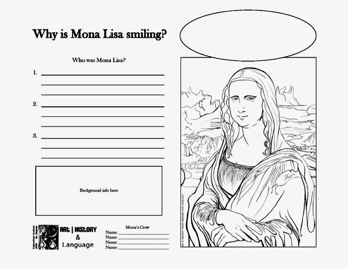 Art History Activities Worksheets For All