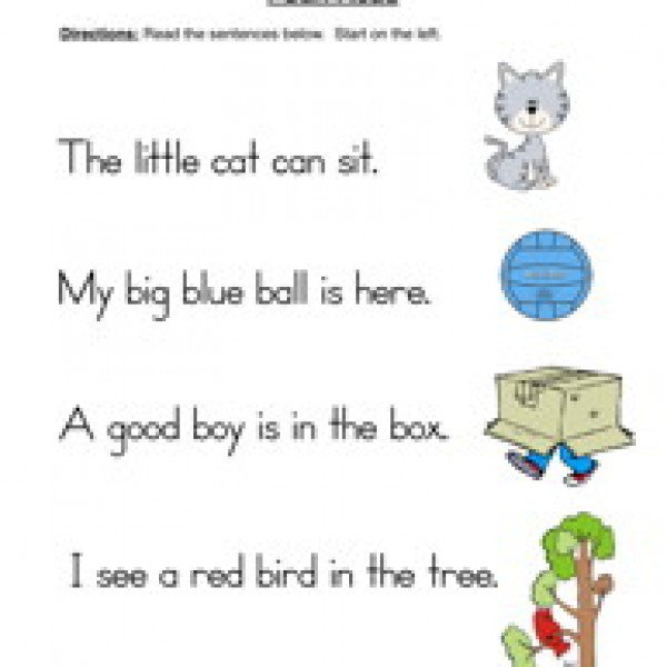 Awesome Collection Of Simple Sentences Worksheets On Example