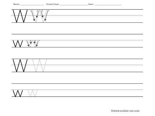 Best Ideas Of Letter W Worksheets Nice Letter W Worksheet
