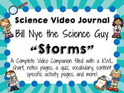 Bill Nye Storms Worksheet Free