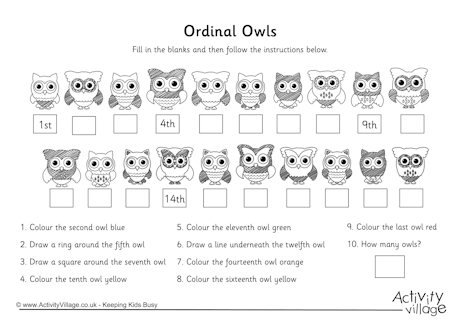 Bunch Ideas Of Ordinal Number Worksheets 2nd Grade Also Layout