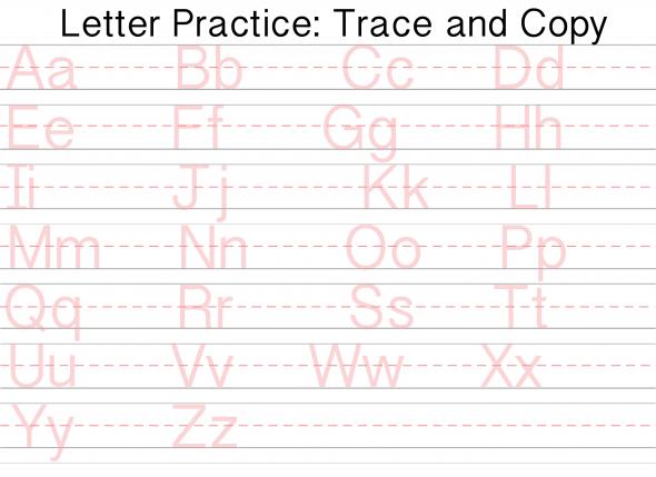 Capital Letter Tracing Worksheet Worksheets For All