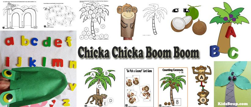 Chicka Chicka Boom Boom Letters Of The Alphabet Preschool